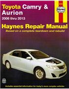Toyota Camry & Aurion 2006 - 2013 Haynes Owners Service & Repair Manual