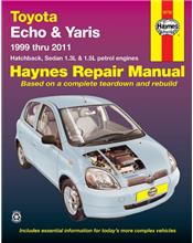 Toyota Echo & Yaris 1999 - 2011 Haynes Owners Service & Repair Manual