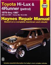 Toyota Hi-Lux & 4Runner (Petrol) 1979-1997 Haynes Owners Service & Repair Manual