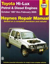 Toyota Hi-Lux Petrol & Diesel 1997 - 2005 Haynes Owners Service & Repair Manual