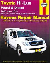 Toyota Hi-Lux (Petrol & Diesel) 2WD & 4WD 2005 - 2015