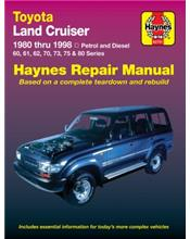 Toyota Land Cruiser (Petrol & Diesel) 1980 - 1998
