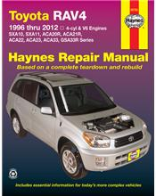 Toyota RAV4 (Petrol) 1996 - 2012 Haynes Owners Service & Repair Manual