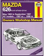 Mazda 626 May 1983 - Sept 1987 Haynes Owners Workshop Manual