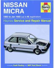 Nissan Micra 1983 - 1993 Haynes Owners Service & Repair Manual
