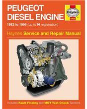 Peugeot 1.7 Litre / 1.8 Litre / 1.9 litre Diesel Engine 1982 - 1996