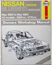 Nissan / Datsun Bluebird 1980 - 1984 Haynes Owners Service & Repair Manual