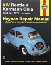 VW Beetle & Karmann Ghia 1954 - 1979 Haynes Owners Service & Repair Manual