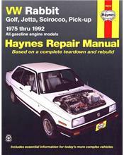 VW (Volkswagen) Rabbit, Cabriolet, Golf, Scirocco, Jetta, Pickup 1975 - 1992