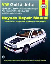 Volkswagen VW Golf & Jetta 1993 - 1998 Haynes Owners Service & Repair Manual