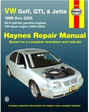 Volkswagen VW Golf, GTI & Jetta 1999-2005 Haynes Owners Service & Repair Manual