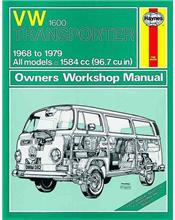 Volkswagen VW Transporter 1600 1968 - 1979 Haynes Owners Service & Repair Manual