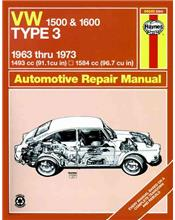 VW Type 3 1500 & 1600 1963 - 1973 Haynes Owners Service & Repair Manual