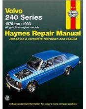 Volvo 240 Series Petrol 1976 - 1993 Haynes Owners Service & Repair Manual