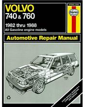 Volvo 740 & Volvo 760 1982 - 1988 Haynes Owners Service & Repair Manual
