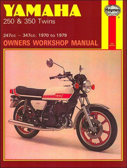 Yamaha RD250, RD350, YDS7 & YR5 Twins 1970 - 1979 - Front Cover