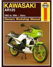 Kawasaki AR125 1982 - 1994 Haynes Owners Service & Repair Manual