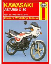 Kawasaki AE/AR 50 & 80 1981 - 1995 Haynes Owners Service & Repair Manual