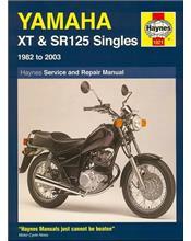 Yamaha XT and SR125 1982 - 2003 Haynes Owners Service & Repair Manual
