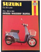 Suzuki CL50 / CL50D Love 1983 - 1884 Haynes Owners Service & Repair Manual