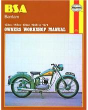 BSA Bantam 1948 - 1971 Haynes Owners Service & Repair Manual
