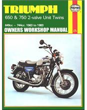 Triumph 650 & 750 2-Valve Unit Twins 1963 - 1983