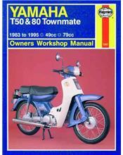 Yamaha T50 and 80 Townmate 1983 - 1995 Haynes Owners Service & Repair Manual