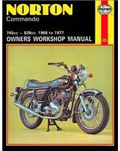 Norton Commando 1968 - 1977 Haynes Owners Service & Repair Manual