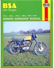 BSA Unit Singles 1958 - 1972 Haynes Owners Service & Repair Manual