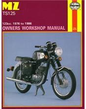 MZ TS 125 (1976 - 1986) Haynes Owners Service & Repair Manual