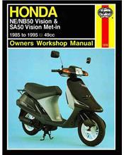 Honda NE / NB50 Vision & SA50 Vision Met-in 1985 - 1995