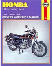 Honda CB750 SOHC Fours 1969 - 1979 Haynes Owners Service & Repair Manual