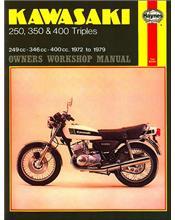 Kawasaki 250, 350 & 450 Triples 1972-1979 Haynes Owners Service & Repair Manual