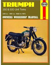 Triumph 350 & 500 Unit Twins 1958 - 1973 Haynes Owners Service & Repair Manual