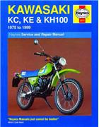 Kawasaki KC/KE & KH100 1975 - 1999 Haynes Owners Service & Repair Manual