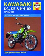 Kawasaki KC/KE & KH100 1975 - 1999 Haynes Owners Service & Repair Manual
