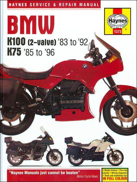 BMW K100 (2-Valve) & K75 Models 1983 - 1996 - Front Cover