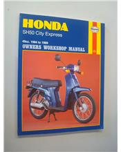Honda SH50 City Express 1984 - 1989 Haynes Owners Service & Repair Manual