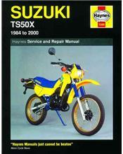 Suzuki TS50X 1984 - 2000 Haynes Owners Service & Repair Manual