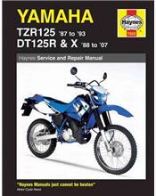 Yamaha TZR125 1987 - 1993 & DT125R/X 1988 - 2007