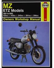 MZ ETZ Models 1981 - 1995 Haynes Owners Service & Repair Manual