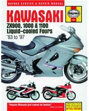Kawasaki ZX900, 1000 & 1100 Liquid-cooled Fours 1983 - 1997