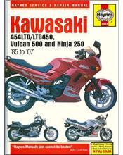 Kawasaki 454LTD, LTD450, Vulcan 500 & Ninja 250 1985 - 2007