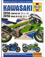 Kawasaki Ninja ZX7, ZX750, ZXR750 1989 - 1996