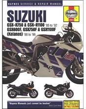 Suzuki GSX-R750, GSX-R1100 GSX600F, GSX750F, GSX1100F (Katana) Fours 1988 - 1996