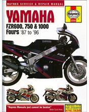 Yamaha FZR600, 750 & 1000 Fours 1987-1996 Haynes Owners Service & Repair Manual