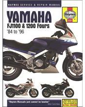 Yamaha FJ1100 & 1200 Fours 1984 - 1996 Haynes Owners Service & Repair Manual