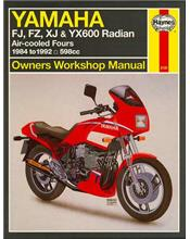 Yamaha FJ, FZ, XJ & YX600 Radian 1984 - 1992