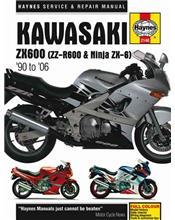 Kawasaki ZX600 (ZZ-R600 & Ninja ZX-6) 1990 - 2006