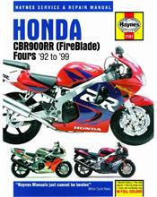 Honda CBR900RR FireBlade Fours 1992 - 1999 Haynes Owners Service & Repair Manual